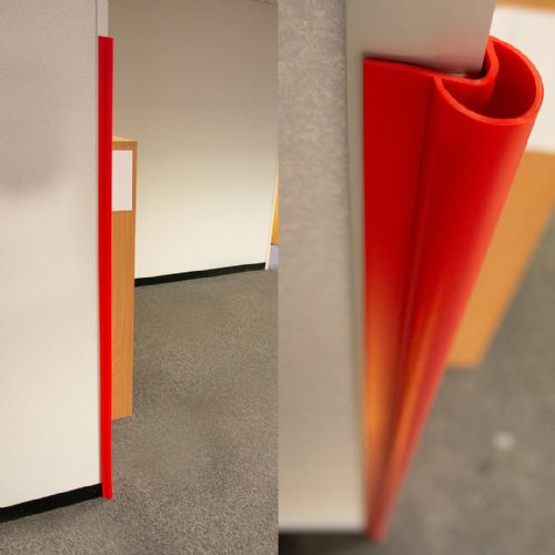 Corner Guard Wall Protection (Red)